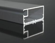VIVARO aluminium-framed door panel - aluminium